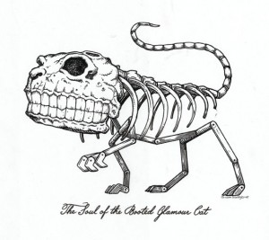 Scott Musgrove - The Soul Of The Booted Glamour Cat - Ink